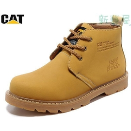 美國卡特CAT男鞋 女鞋休閒皮鞋大頭鞋高幫工裝鞋馬丁靴男靴子短靴登山鞋中靴機車軍靴