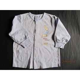 紫庭雜貨 PETER RABBIT 彼得兔淺藍色 圓領長袖上衣 ^~^~ 尺寸24M 約2