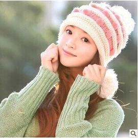 帽子韓國女款帽子女士針織毛線帽子潮帽帽子 廠家直銷 棒球帽網帽漁夫帽遮陽帽寬緣荷葉帽鴨舌帽