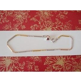 正品 S925純銀手環電鍍三色白金黃金玫瑰金色彩銀閃珠 手鏈
