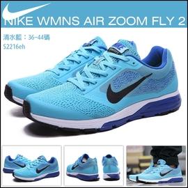NIKE WMNS AIR ZOOM FLY 2 透氣 網布 慢跑鞋 休閒 鞋 情侶款