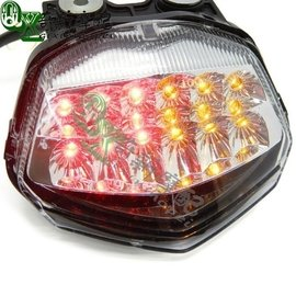 9天川崎小忍者Ninja 250R 08~09~10~11~12年 LED后剎車燈 后尾燈