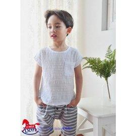 ^~夏日 感恩慶^~ 大 ^~^~ ^~嘻嘻寶貝^~ ^#韓國 ^#涼感透氣 線衫 ~ 米