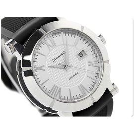 TIFFANY&Co 蒂芙尼 手錶 機械錶 ATLAS 系列 42mm 藍寶石 瑞士 男琦