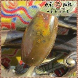 天然原石21mm紅縞南紅瑪瑙珠勒子吊墜天珠手鏈手串散珠轉運珠M315