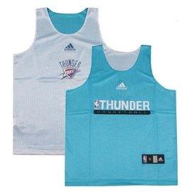 NBA練習衣 NBA訓練服 雷霆隊Oklahoma City Thunder 雙面穿網眼