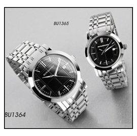 正品~ BURBERRY Watch 雅仕 英倫男女對錶系列 BU1364 BU1365