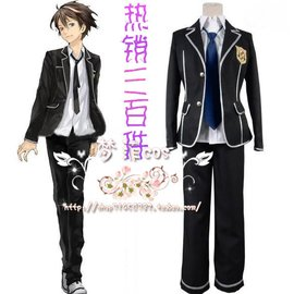 COS動漫 罪惡王冠 天王洲高校 櫻滿集 cosplay服裝 男裝 訂做