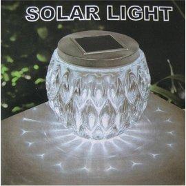 傑太向陽科技太陽能 裝飾燈 戶外 裝飾 燈 太陽能燈 水晶玻璃燈 LED 桌燈  彩色 白