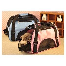 晶麗坊 牛津布 耐磨透氣寵物包 外出提籠 手提斜背兩用包