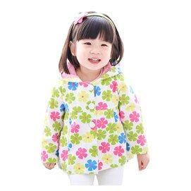 恩恩熊外套2016秋裝 女童寶寶連帽薄外套嬰兒上衣50069
