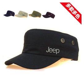 jeep軍帽 潮男帽子男士帽子戶外男帽春夏遮陽平頂帽太陽帽