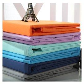 思洋純棉單件床單高支高密全棉純色加厚家居床單人雙人學生被單