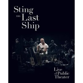 史汀 最後方舟現場 DVD Sting  Live At The Public Theat