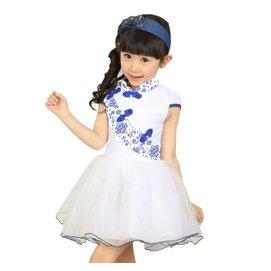 大童女裝夏裝2015 女童連衣裙蓬蓬裙 兒童公主裙子紗裙