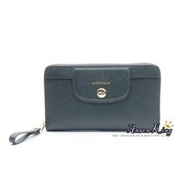 Outlet 正品 法國 Longch Le Pliage Heritage系列 牛皮 拉