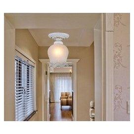 華洛燈飾 ~描金小吸頂燈.走道燈.樓梯燈.玄關燈e27x1 D2081~1
