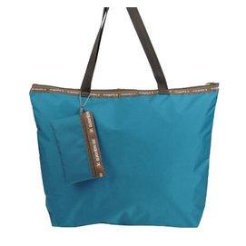 m square旅行單肩 背包防水尼龍 袋手提袋女士折疊環保袋