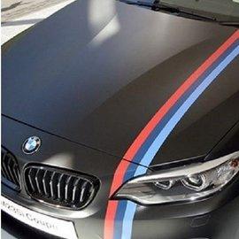 BMW 德國 三色一體貼紙 車門貼 M3 E36 E46 E90 E91 E92 E93
