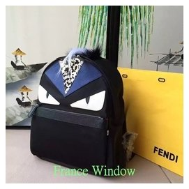 France Window 芬迪 Fendi 小怪獸 書包 雙肩包 背包