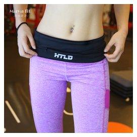男女款馬拉松跑步健身防汗水貼身隱形超薄戶外旅行手機 腰包