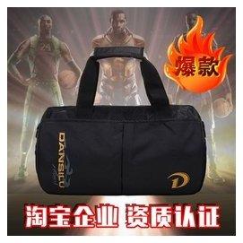 健身包男手提短途旅行包女單肩斜跨圓筒訓練包可折疊小行李袋
