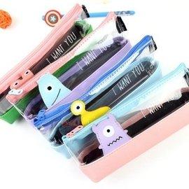 韓國小怪獸筆袋 化妝包^#NI010100