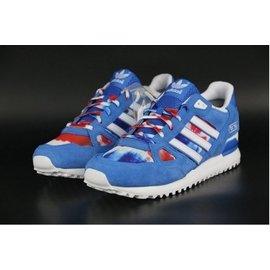 ~三井壽~ ADIDAS 冠希著 三葉草 ZX750 慢跑鞋 藍白紅 碎花 男鞋