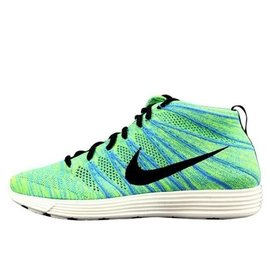 ~三井壽~ Nike Lunar Flyknit Chukka 飛線 綠彩虹 鴛鴦鞋 慢跑