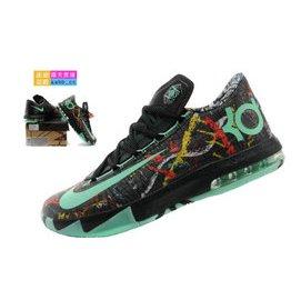 耐吉NIKE KD VI KD6 杜蘭特6代男子戶外籃球鞋 室內室外鞋 耐吉籃球鞋 低幫籃