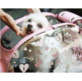 vivi愛巴黎 爆款IBIYAYA透明膠囊寵物提拎包 貓狗外出 航空箱 包 方便攜帶承重6