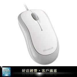 ~好店~ 微軟 入門光學鯊 光學滑鼠 usb滑鼠 有線滑鼠 捲線滑鼠 白色 海鷗白 360