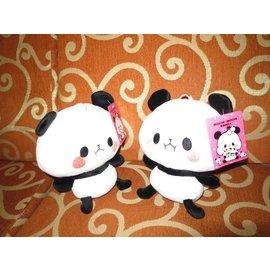可愛娃娃  ^~6吋 超可愛的mochi Panda 麻糬熊^~熊貓貓熊絨毛娃娃~~~約1