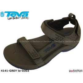 Teva 男款灰藍戶外健步 涼鞋 TANZA M S 2190~含運~^(4141~GRE