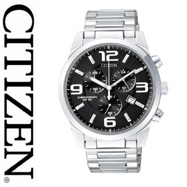 7【CITIZEN】星辰 OXY 賽車風格三眼計時運動錶 台南經銷商 AN7050-56E