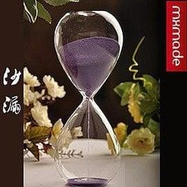 泡芙小姐沙漏 計時器 超大號 愛情沙漏 擺設 家居用品 送禮 擺件飾品