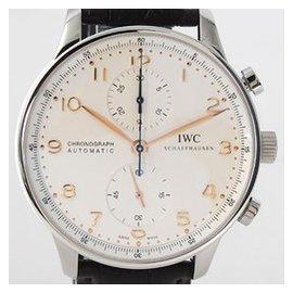 萬國IWC葡萄牙系列.精鋼計時男用皮帶腕錶^(IW371401^) 的選擇