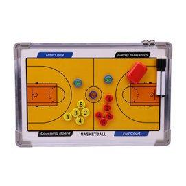 帶包 懸掛籃球戰術板 裁判教練用品 沙盤圖示板作戰板 鋁合金邊框 帶筆帶磁石