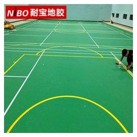 耐寶 乒乓球地膠地板羽毛球場地場館塑膠板室內健身房 地墊地板革 地板多 地板膠 牛皮紋4.