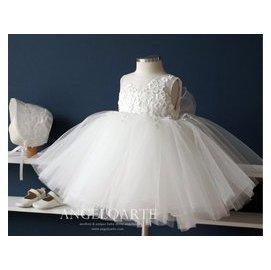 BO 女童連衣裙夏 兒童花朵公主裙中童小童蓬蓬裙兒童裙子 婚紗 花童 婚禮