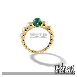 歐尚時代新年  虎眼石孔雀石瑪瑙圓珠戒指指環女