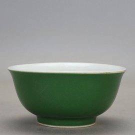 大清御善房?釉碗 古董 古玩 民間收藏