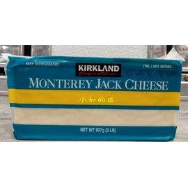 ~小如的店~COSTCO好市多 ^~Kirkland 蒙特力傑克乾酪塊 乳酪塊^(每塊90