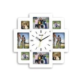 相框掛鐘客廳臥室靜音時鐘田園歐式簡約風格藝術鐘表