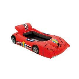 59380兒童遊泳圈 坐圈 嬰幼兒浮圈 卡通座圈 孩子戲水玩具 紅色賽車