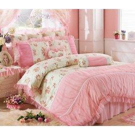 MONEY  ^#39 S HOUSE 夏之戀雪紗床罩三件套 單人
