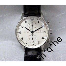 萬國 IWC Spitfire Double Chronograph 葡萄牙計時手錶 IW