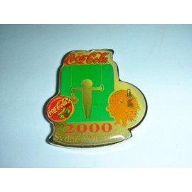 A皮.^(企業寶寶玩偶娃娃^) 附袋2000年sydney olympic雪梨奧運 可樂^