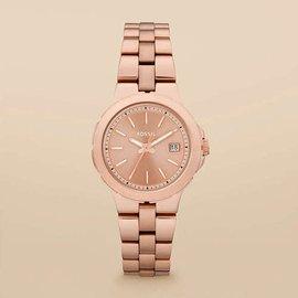 美国妮妮代购Fossil手表腕表不锈钢表带女表AM4402
