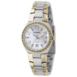 美国妮妮代购Fossil手表腕表不锈钢表带女表AM4183